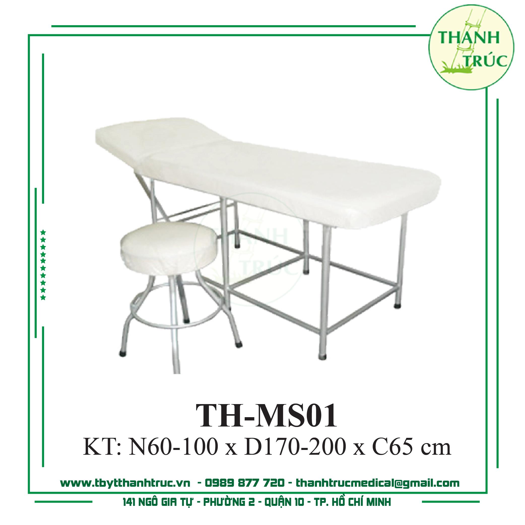 GIƯỜNG MASSAGE SẮT TH-MS01