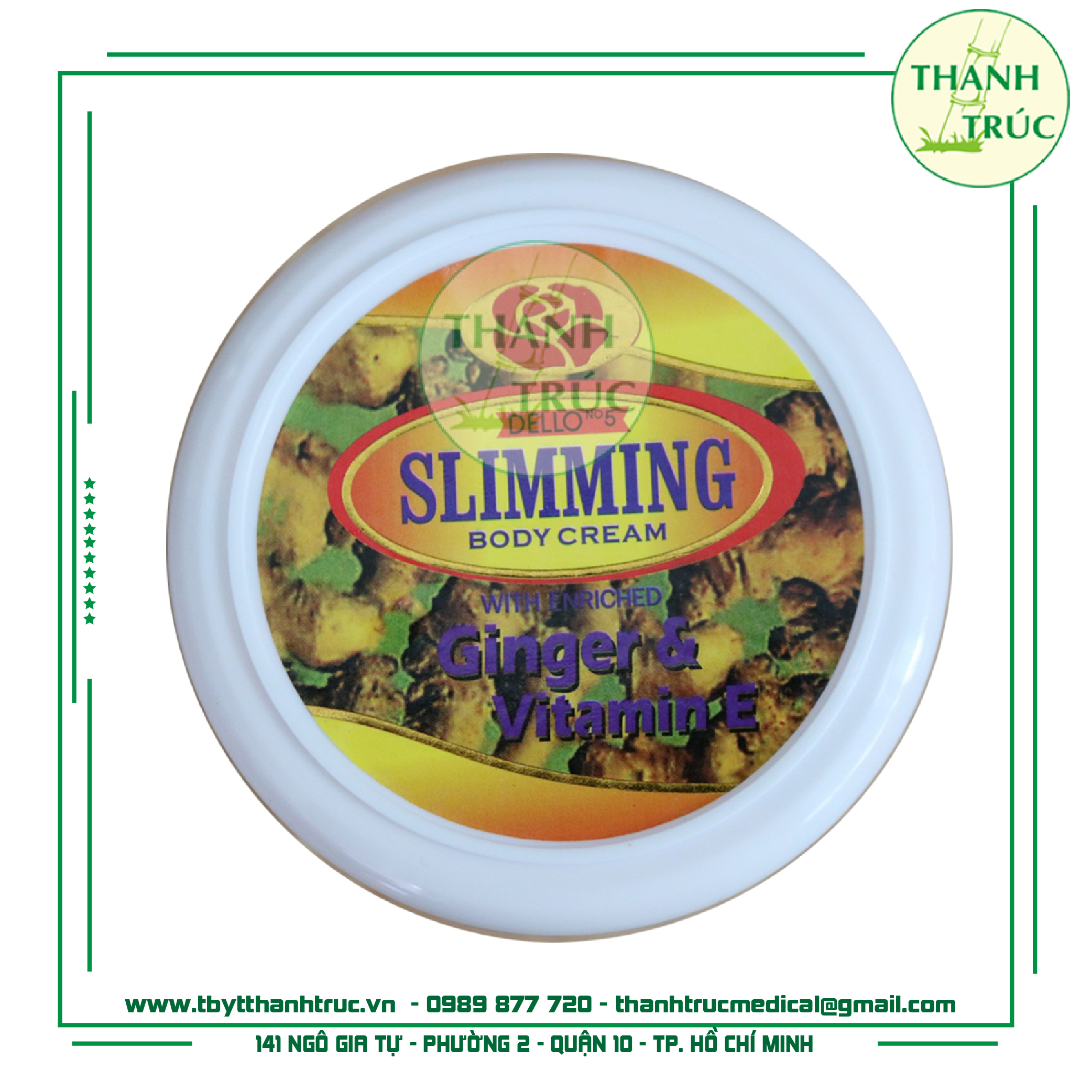 Kem tan mỡ Slimming Body Cream