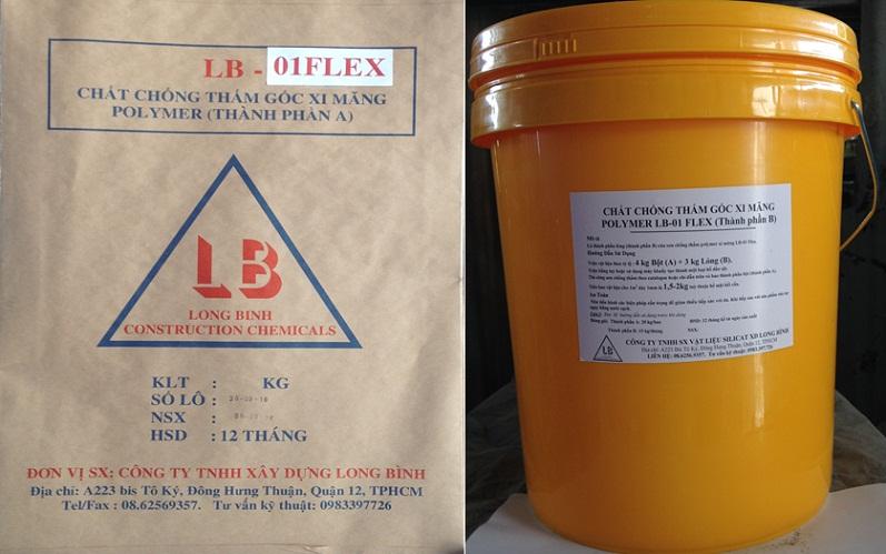 Hoá chất chống thấm đàn hồi cao LB-01 FLEX