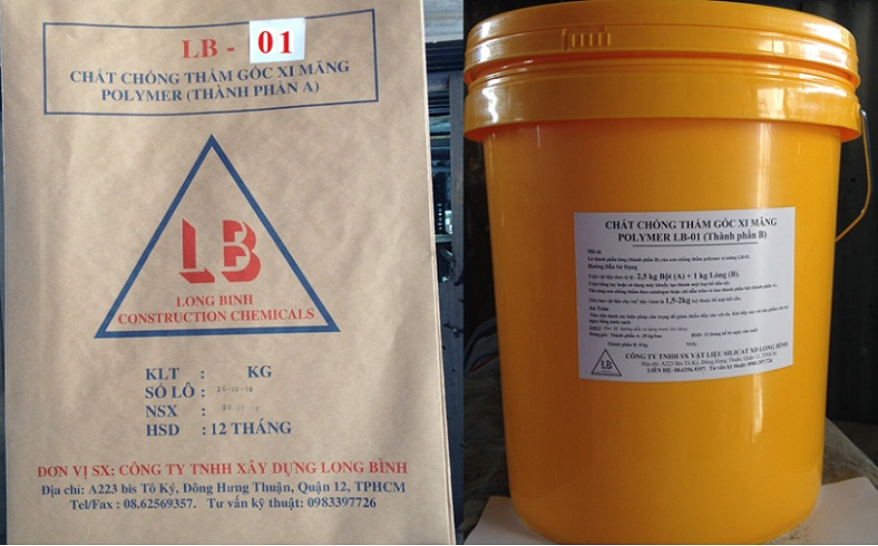 Hoá chất chống thấm đàn hồi LB-01