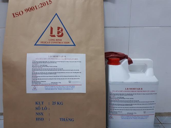 Vữa sửa chữa bê tông đàn hồi LB-MORTAR R