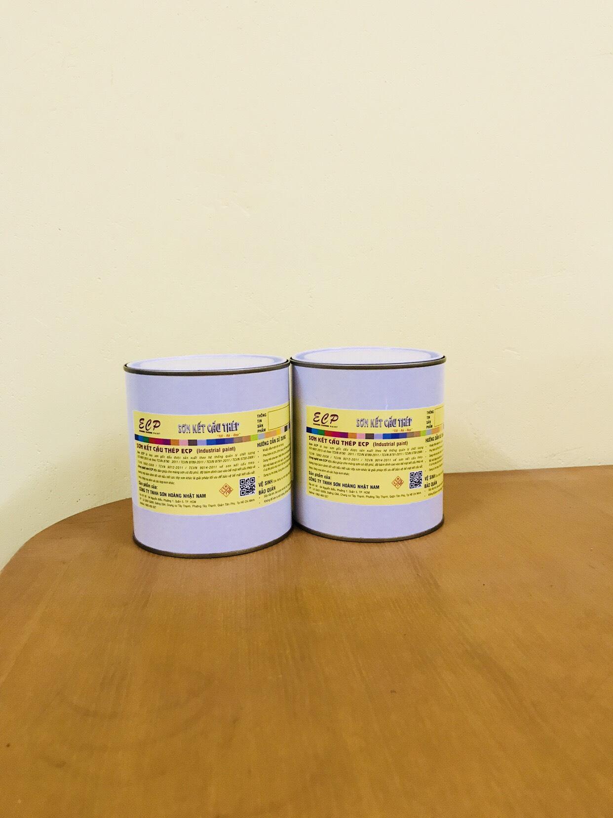 Sơn lót epoxy ecp - Nâu đỏ/ 1,2kg/bộ