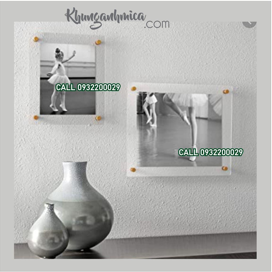 Khung mica poster A4 | KHUNG ẢNH MICA.COM