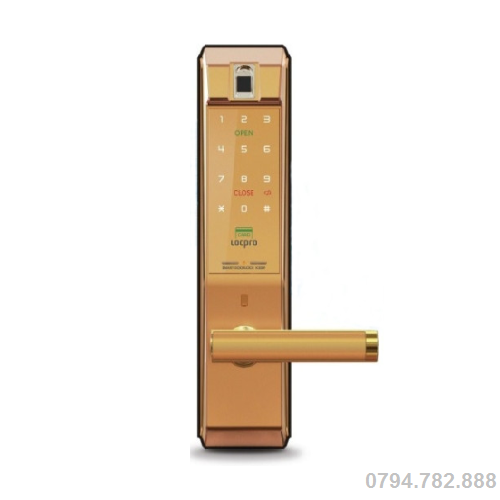 Khóa cửa điện tử LOCPRO K300F ( Gold )