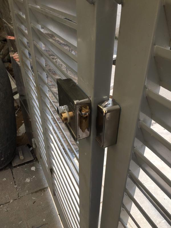 Khóa điện cổng 12V RIMLOCK