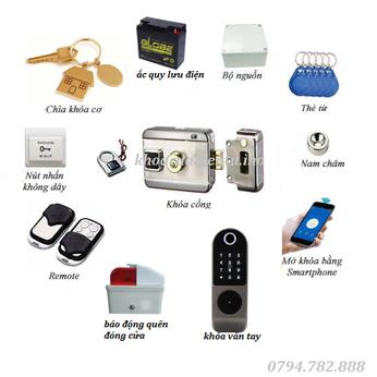 Bộ khóa cổng điện tử Gate - Plus T1