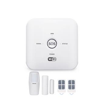 GW03- Bộ Báo Động Chống Trộm Qua WIFI + Sim GSM