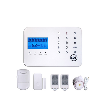 Bộ Báo Động Chống Trộm Cảm Ứng Qua Sim GSM GP01