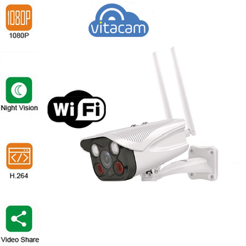 Camera IP Wifi Vitacam VB720PRO chuẩn nén video H.265X