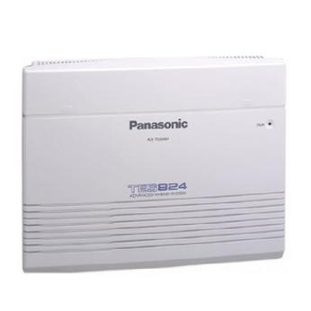 Tổng đài Panasonic KX-TES824 khung chính 3 trung kế vào 8 máy nhánh ra