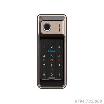 Khóa cửa vân tay Unicor VR500 – BW(cửa nhôm)
