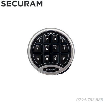 Khóa Cửa Vân Tay Securam Safelogic Basic