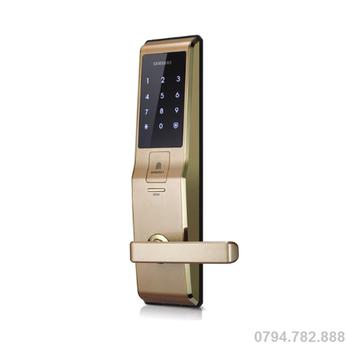 Khóa Cửa Vân Tay SAMSUNG SHS-H705 ( Gold )