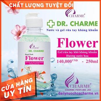 Nước Rửa Tay Khô DR. CHARME Flower 250ml
