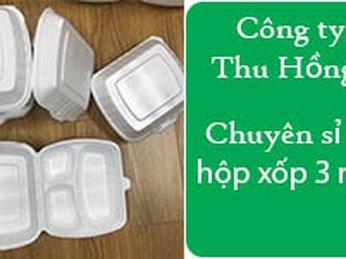 Mua hộp xốp 3 ngăn giá rẻ tại TpHCM