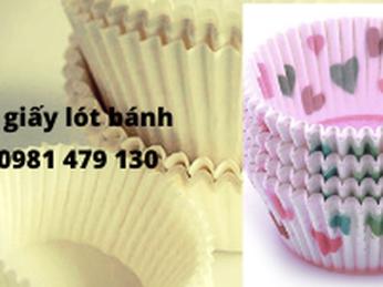 Tìm mua cốc giấy – chén cupcake lót bánh giá rẻ TPHCM