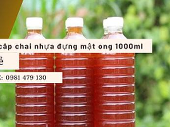 Chai nhựa đựng mật ong 1lit giá rẻ tại Tp.HCM