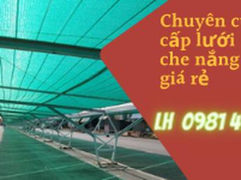 Bán lưới che nắng Thái Lan giá rẻ dùng bền tại TPHCM