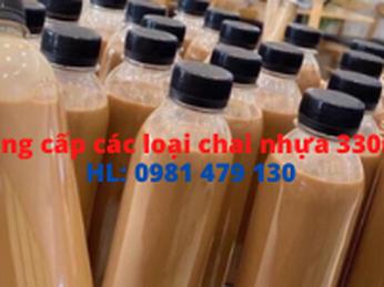 Bán các loại chai nhựa 330ml giá sỉ tại TpHCM