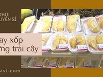 Bán sỉ rẻ khay xốp đựng trái cây hoa quả tại TPHCM.