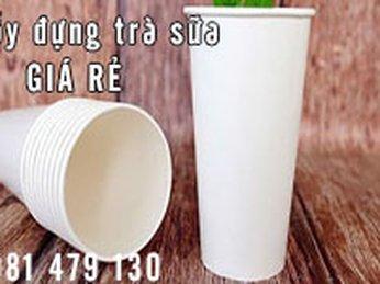 Địa chỉ bán ly giấy đựng trà sữa tại TPHCM