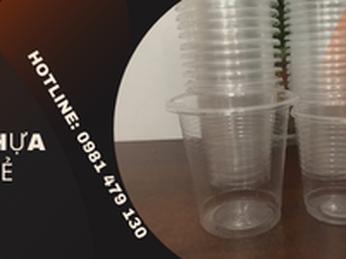 Bán ly nhựa 170ml, 200ml, 220ml, 380ml tại TpHCM