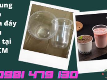 Sỉ Ly Nhựa Đáy Bầu 360ml - 500ml- 700ml Đựng Trà Sữa Đẹp