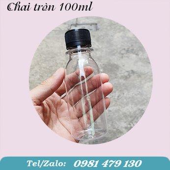 CHAI NHỰA TRÒN 100ML