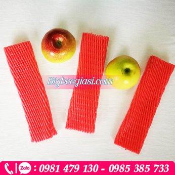 Lưới xốp màu đỏ dài 22cm
