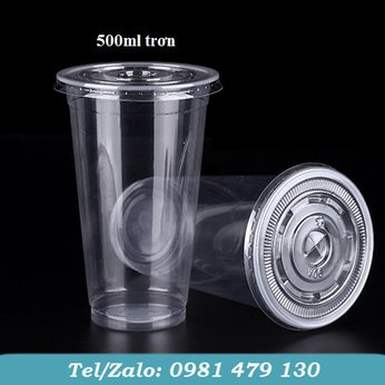 LY NHỰA PET 500ML TRƠN