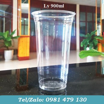 LY NHỰA PET TRƠN 900 ML