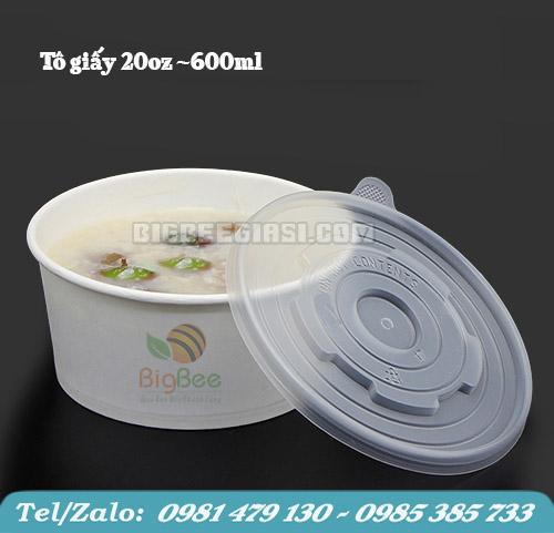 TÔ GIẤY 600ML - 20OZ