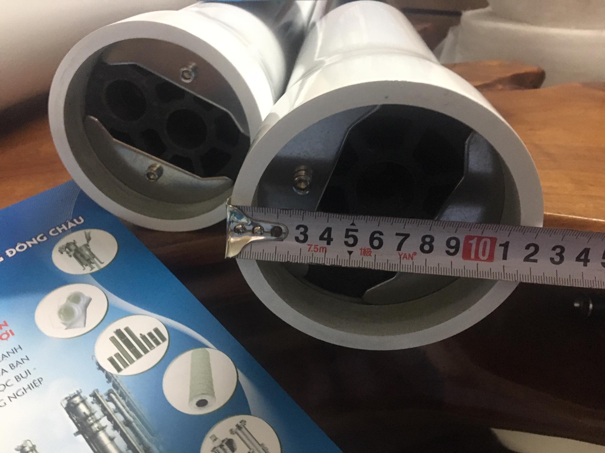 Vỏ composite chứa màng lọc RO UF 4040