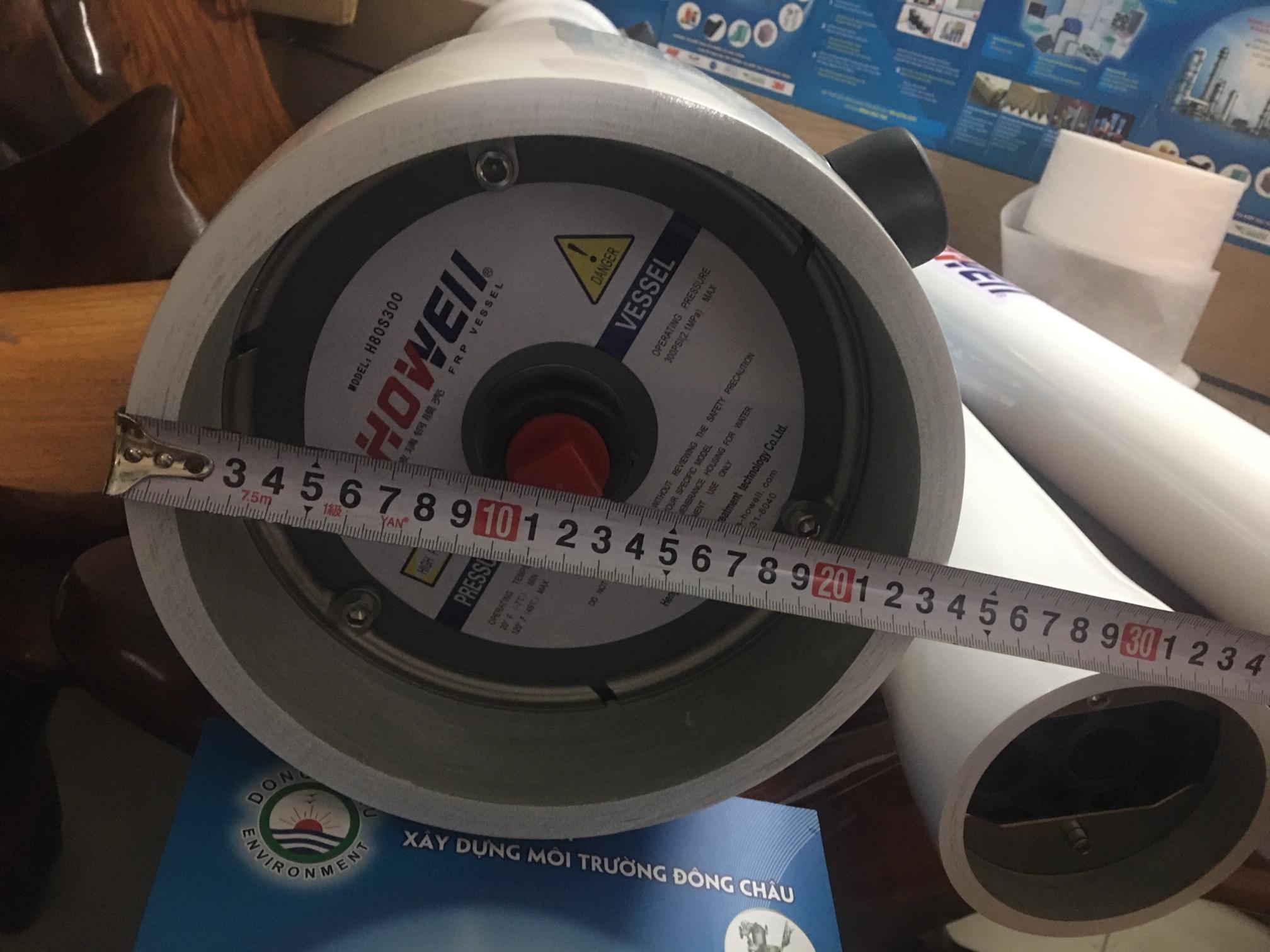 Vỏ composite chứa màng lọc RO 8040