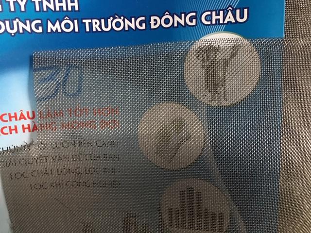 Lưới lọc inox 30 mesh lọc cặn hóa chất lọc cát