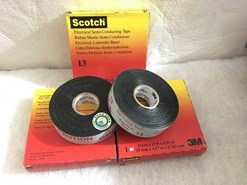Băng keo cách điện bán dẫn 3M Scotch 13