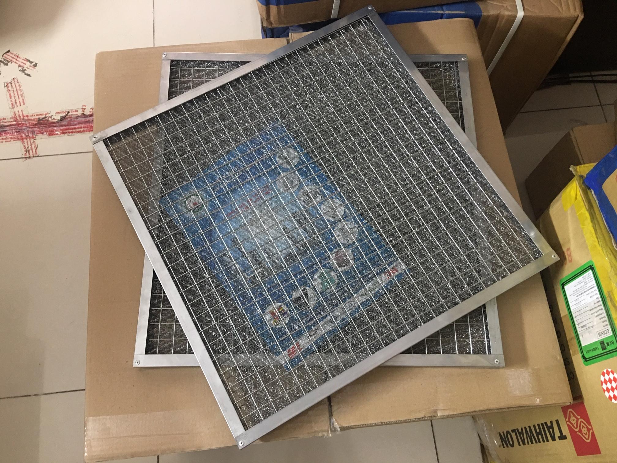 Khung lưới bùi nhùi metal mesh lọc khí nóng