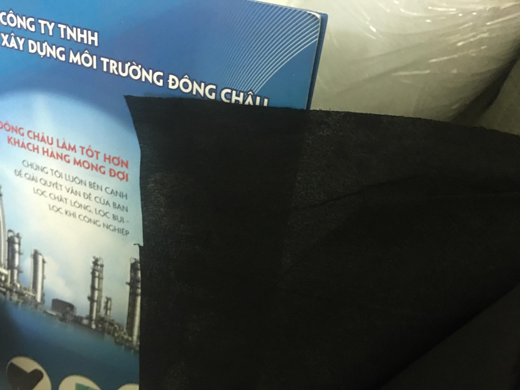 Vải Than Giấy Than Hoạt Tính 60g May Khẩu Trang Phòng Độc