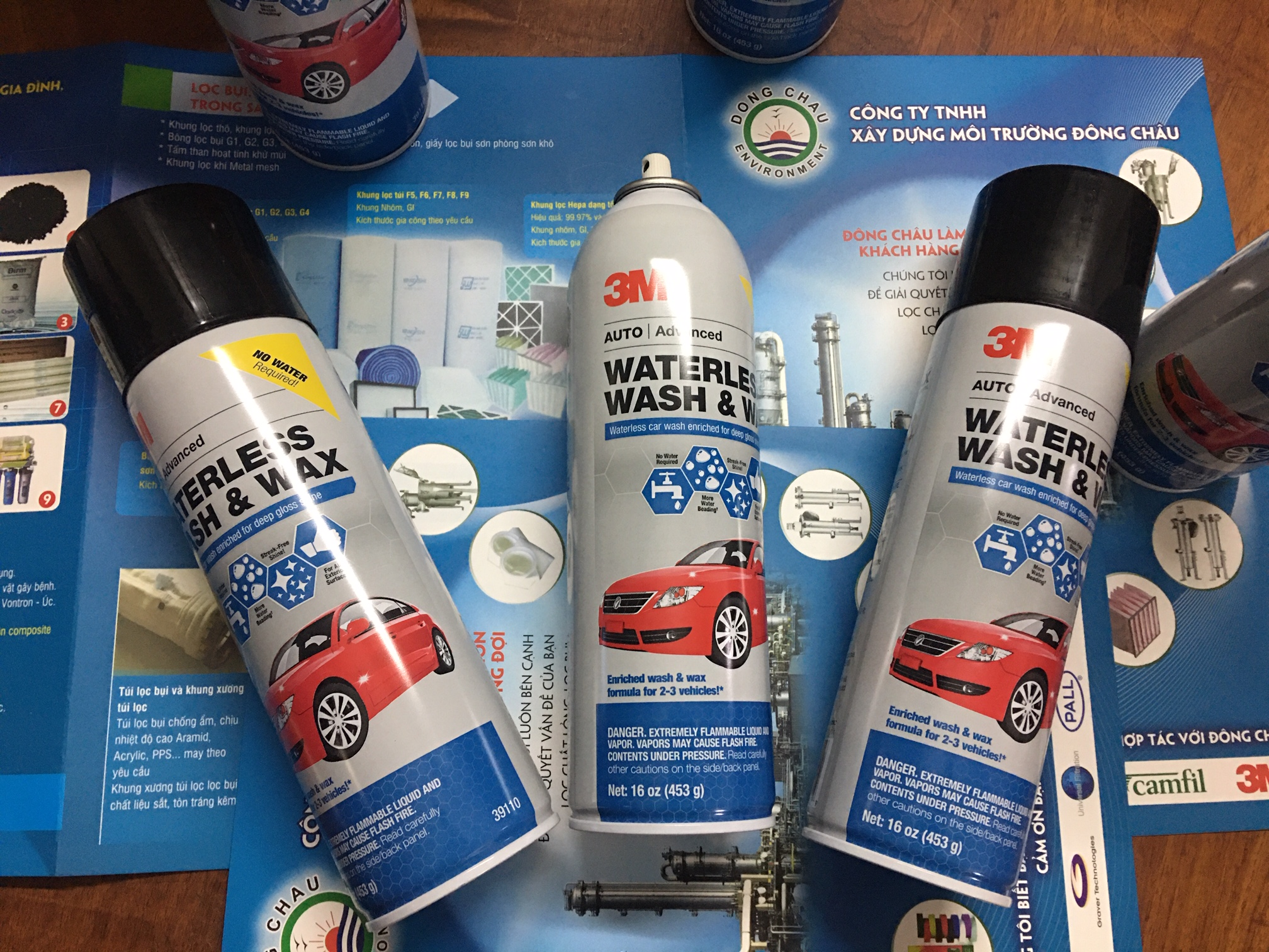 Chai xịt rửa xe không bọt tuyết 3M 39110