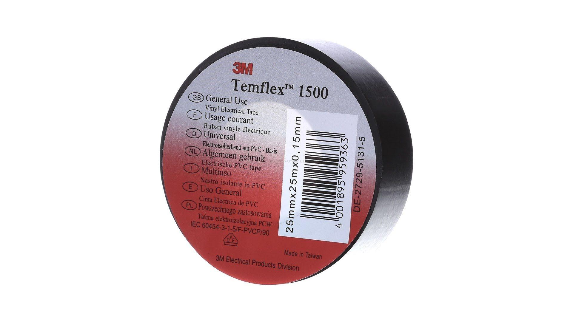 Băng keo dính cách điện 3M Temflex 1500