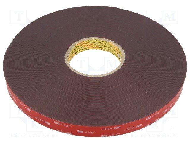 Băng keo cường lực 3M VHB 4611 dán kính, dán gỗ, treo đồ vật, dán kim loại