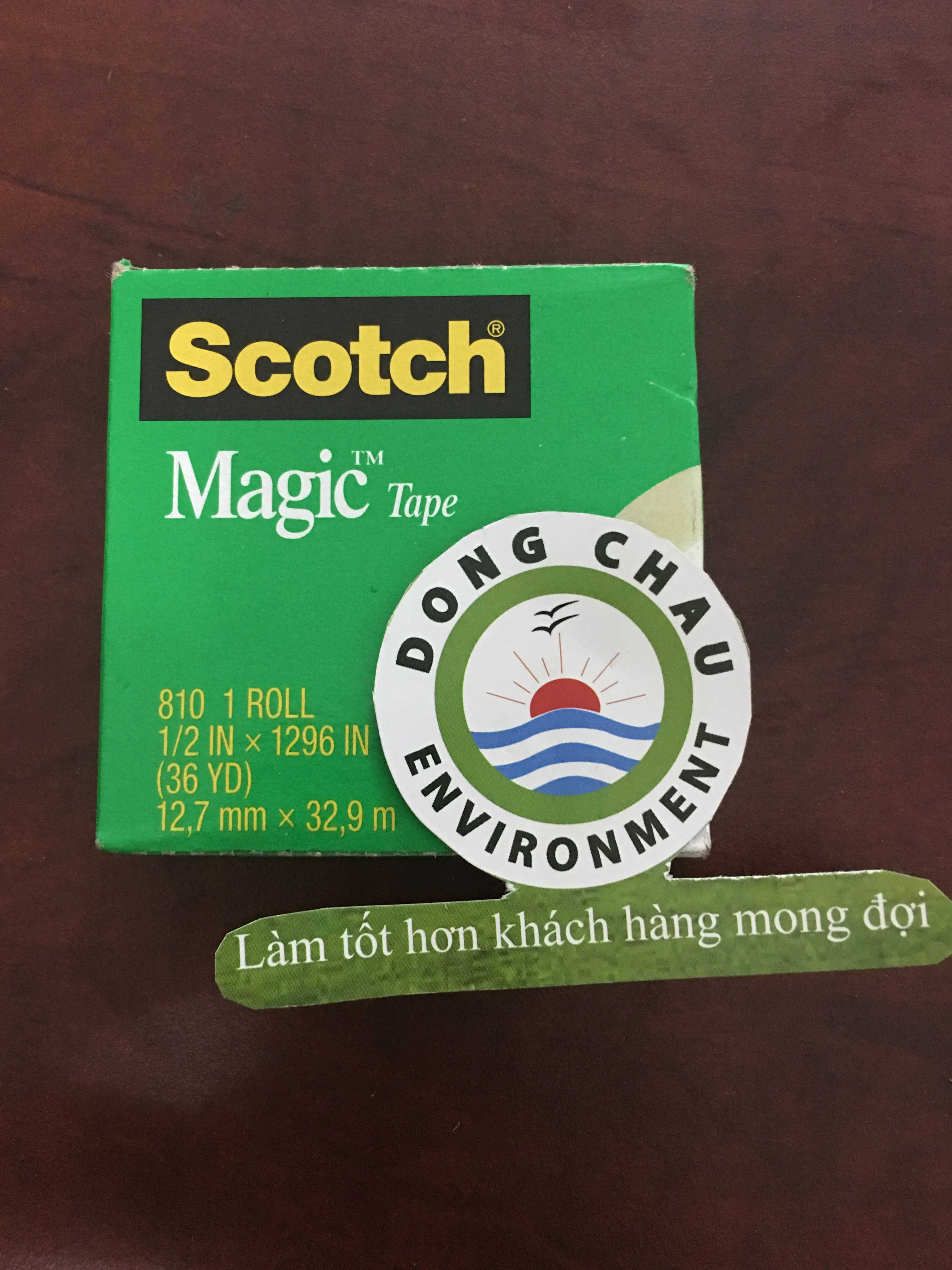 Băng keo 1 mặt Scotch Magic 810 3M Việt Nam