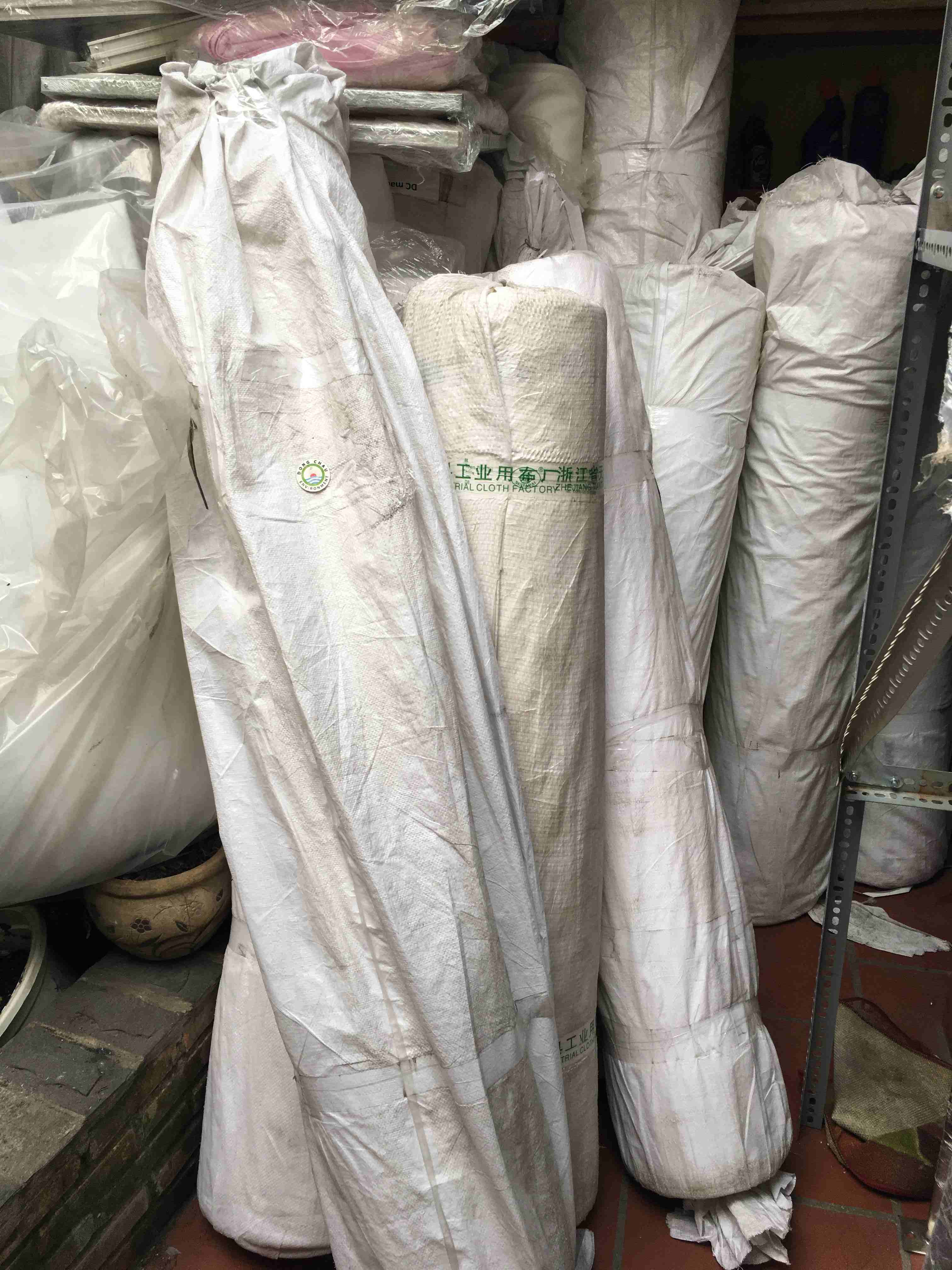 Vải Lọc Ép Bùn 1.1 Mm