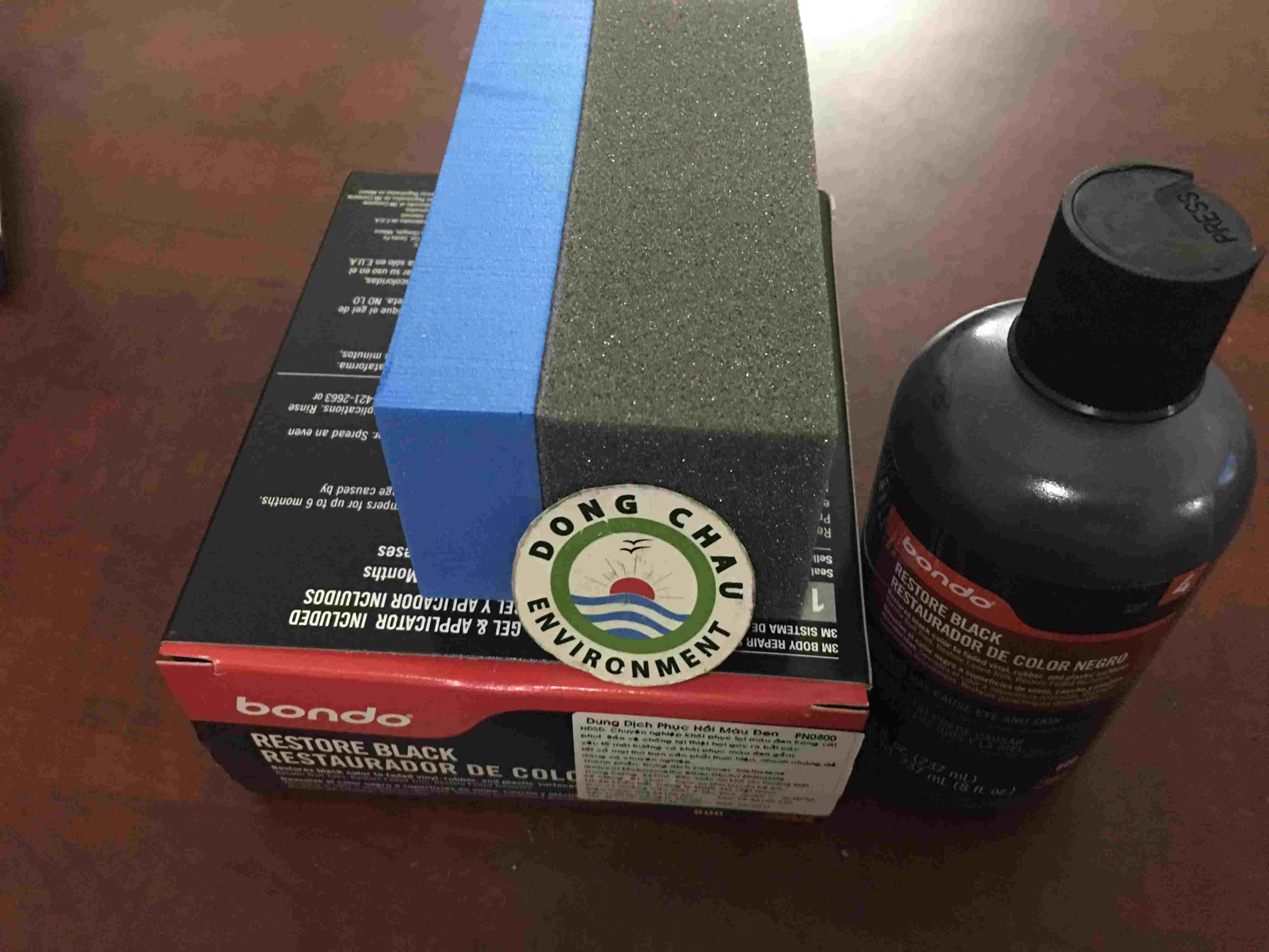 Chai phục hồi nhựa đen – 3M BONDO RESTORE BLACK PN0800