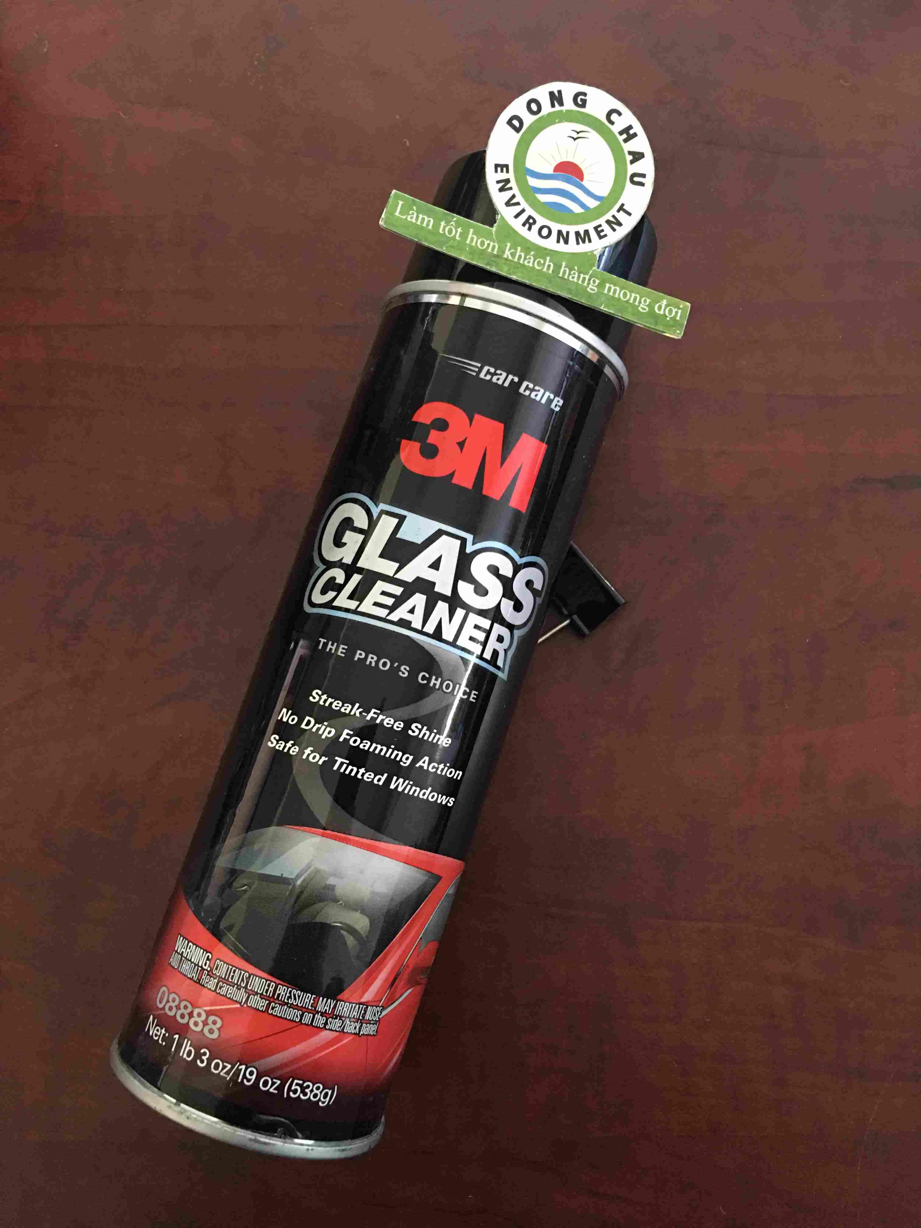 Chai xịt làm sạch kính ô tô 3M 08888