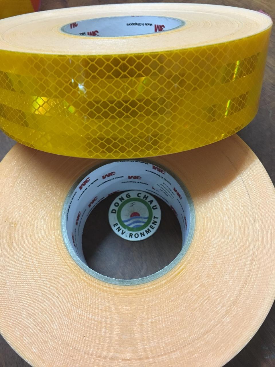 Băng Keo Phản Quang Màu Vàng 3M 983 71