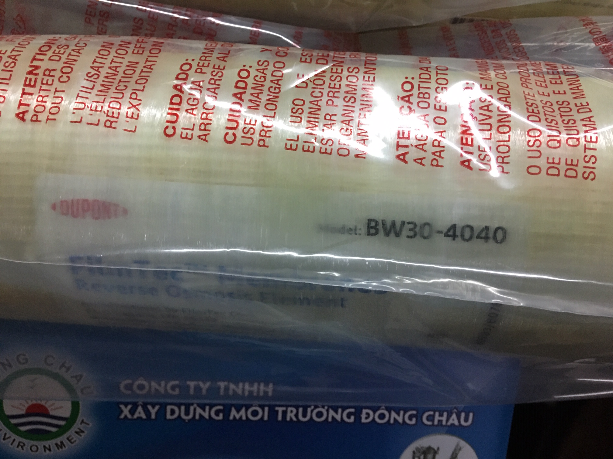 Màng lọc áp cao dupont bw30 4040