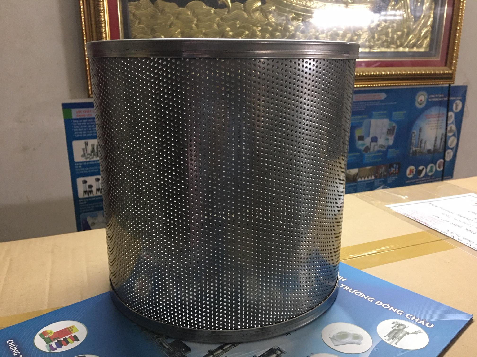 Rổ inox lọc cặn lọc nước và hóa chất