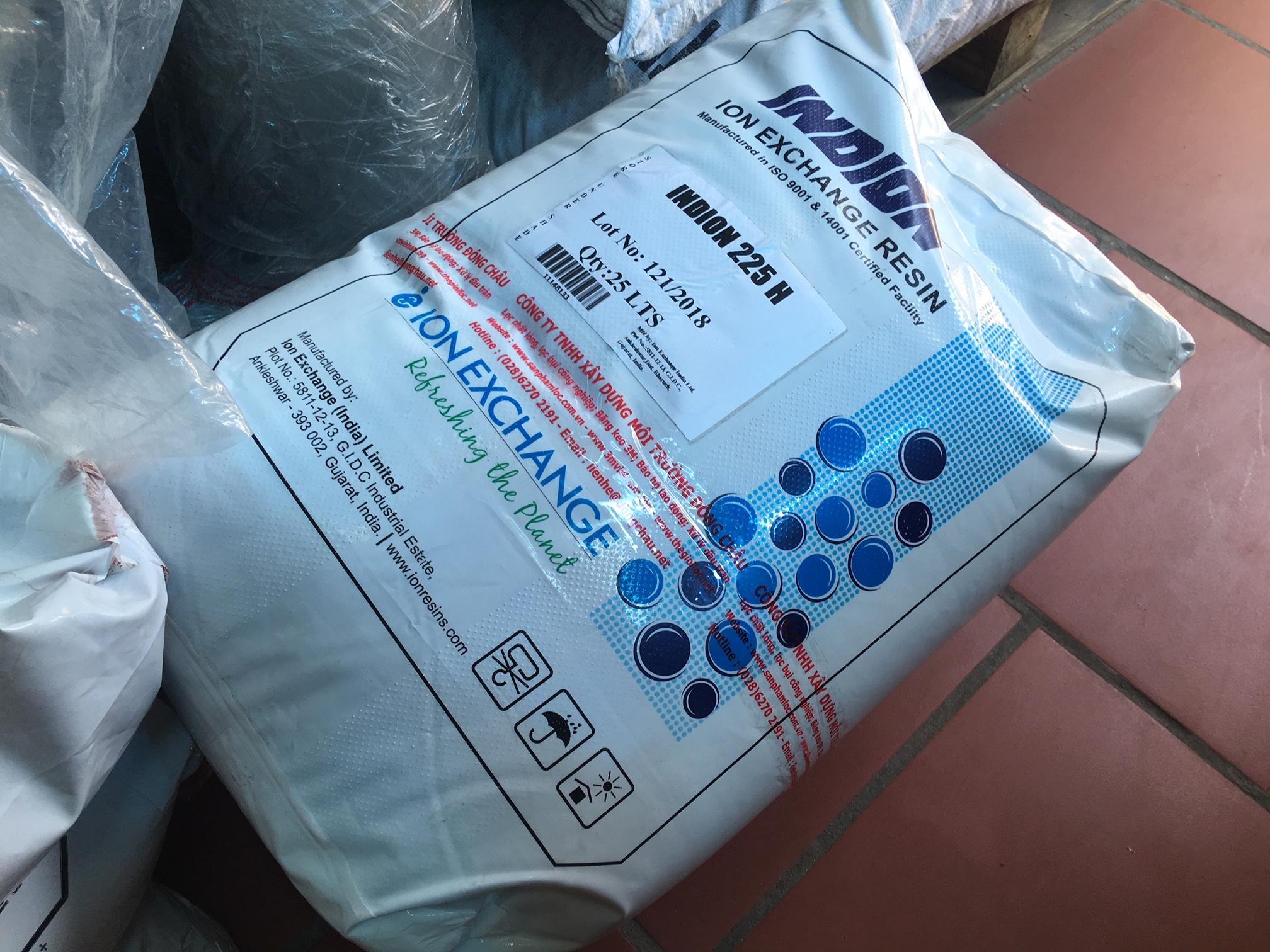 Hạt Nhựa Trao Đổi Ion Âm Anion Indion Ấn Độ FFIP Gốc Cl