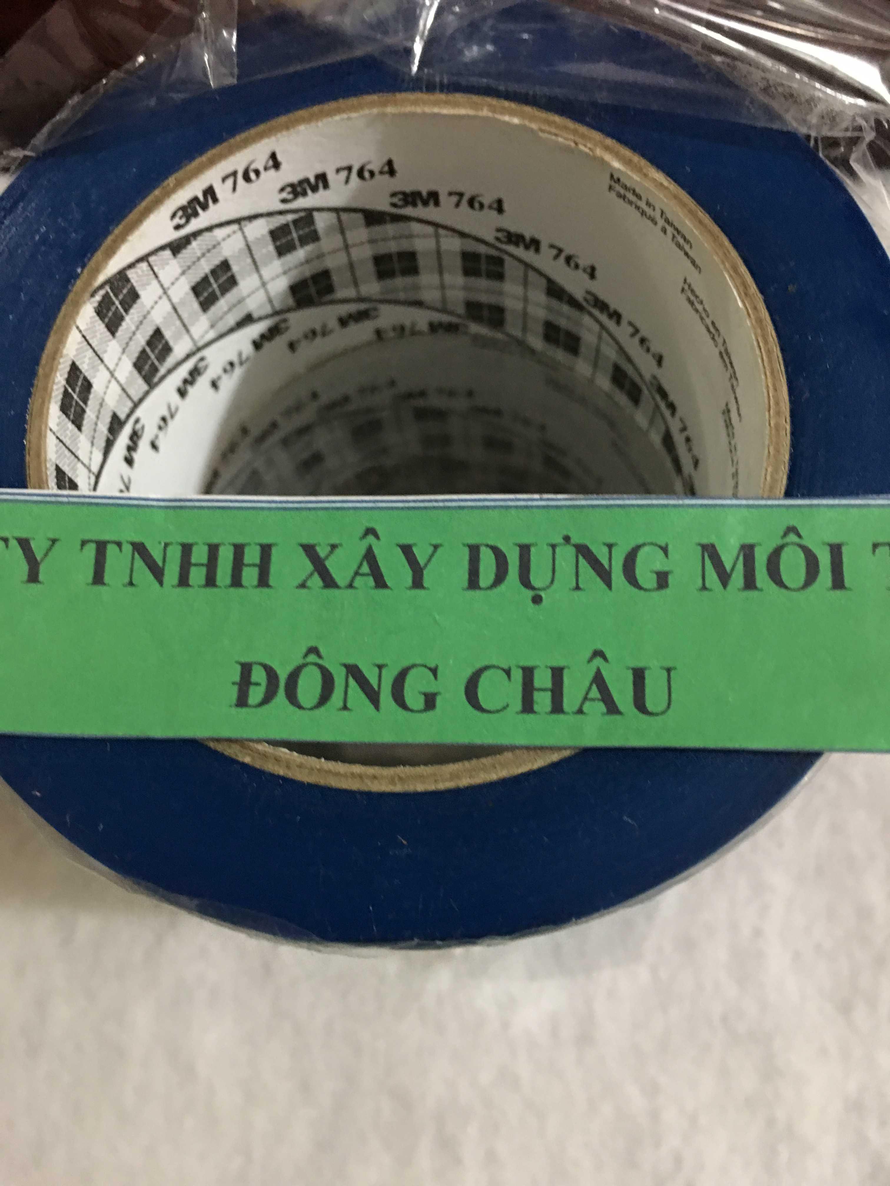 Băng Keo Dán Nền Xanh 3M 764